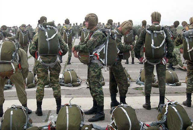 Парашютисты 22-й бригады