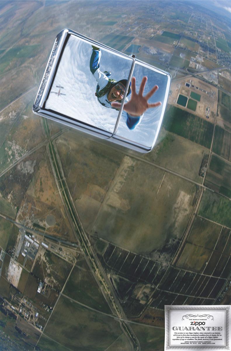 skydiver-zippo-ads