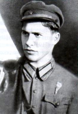 Советский летчик Петр Павлович Балашов