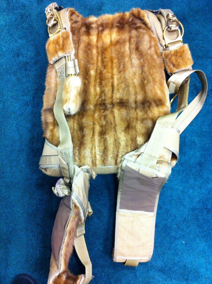 furry harness
