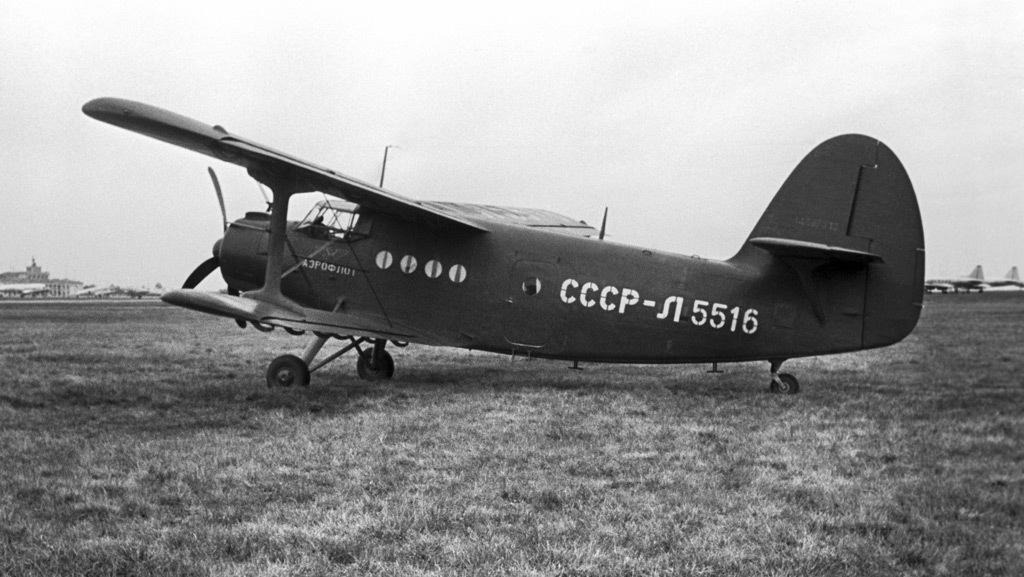 Многоцелевой одномоторный самолет Ан-2 (1956 год)